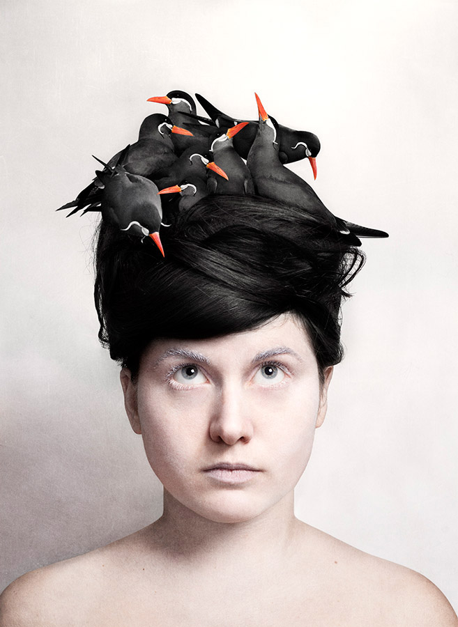 LITTLE BIRD WHISPER IN MY EAR #4 of 20 á 36x50 cm. From 5000 SEK